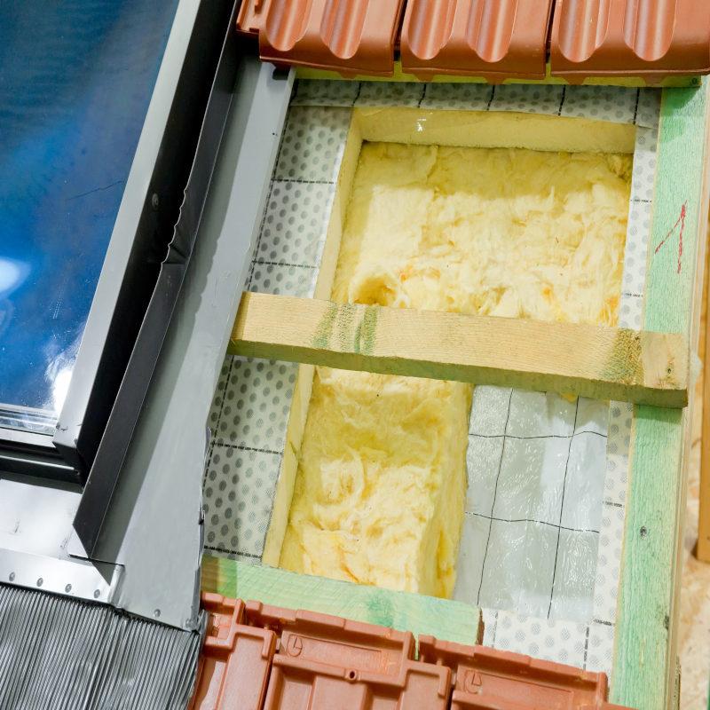 dachbodendaemmung am offenen dach